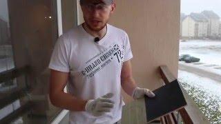 2# Укладка плитки на пол и затирка швов