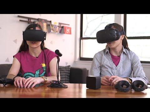 Oculus Rift vs. HTC Vive comparison