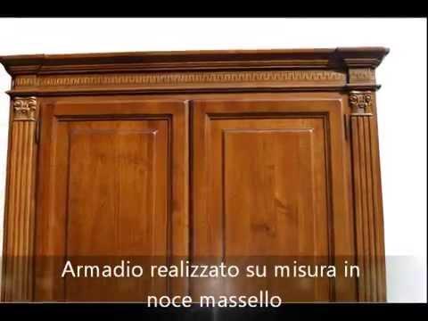 Produzione mobili in stile antico armadio con capitelli e - Mobili stile antico ...