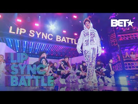 Macy Gray's Puts Her Own Spin On Missy Elliot's 'WTF'   Lip Sync Battle: Soul Train Awards Edition