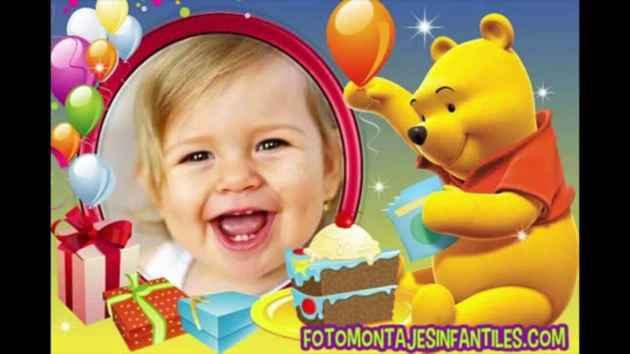 Tarjetas de cumpleaños de Winnie Pooh YouTube