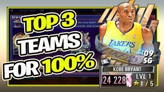NBA 2K Mobile Best Teams For 100% Bonus In Fantasy Finals