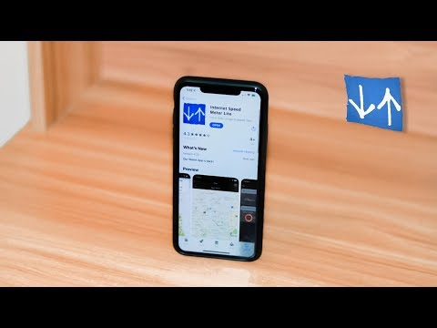 How To Get Internet Speed Meter On IPhone For Free ✌️Network Speed Monitor For IPhones