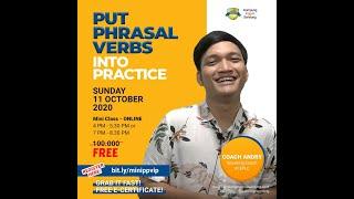 Mini Class | Put Phrasal Verb Into Practice | E-PLC