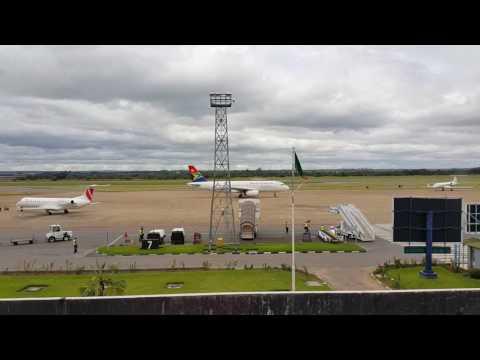 Zambia Lusaka Kenneth Kaunda Airport