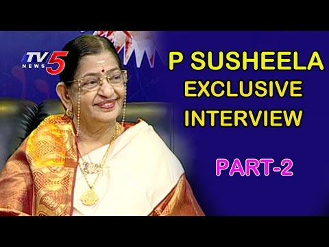 P Susheela Exclusive Interview   Life is Beautiful   Part - 2   TV5 News