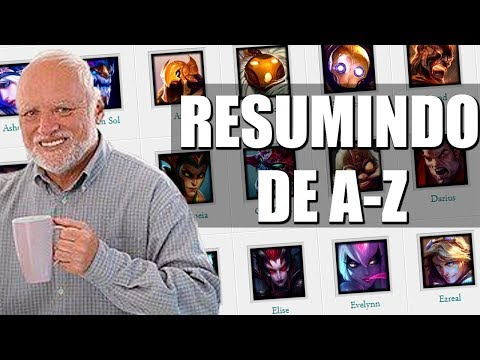 RESUMINDO OS CHAMPIONS DO LOL DE A-Z - PARTE 1