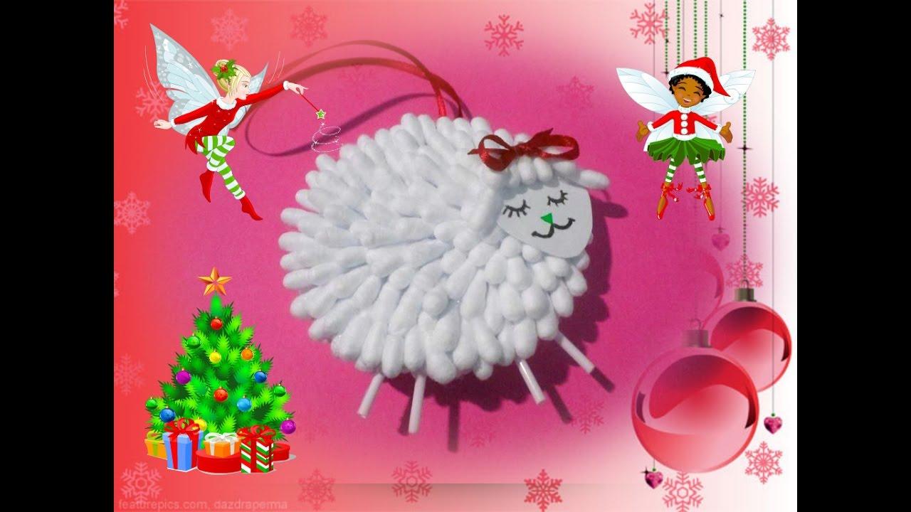 Новогодняя игрушка своими руками / Делаем с детьми ...