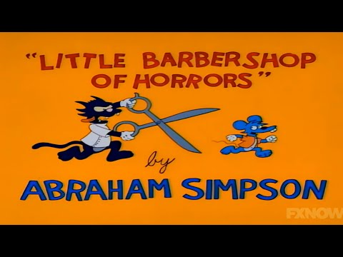 Itchy and Scratchy - Little Barbershop of Horrors (Compiled & Edited)