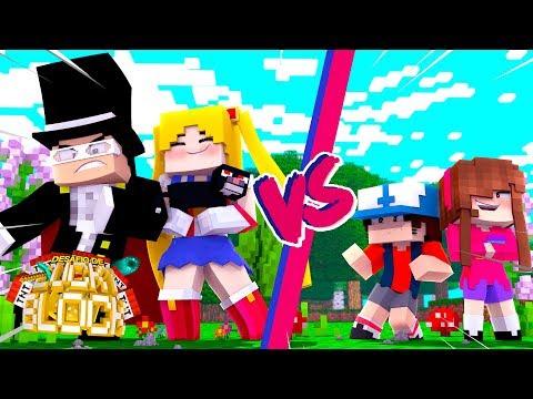SAILOR MOON vs GRAVITY FALLS? - Minecraft: Desafio de Lucky Block