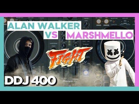 ALAN WALKER vs MARSHMELLO Battle Mix | DDJ 400