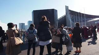 代々木第一体育館 今日は木村拓哉のソロコンサートの追加公演日 2020.2.11 1.