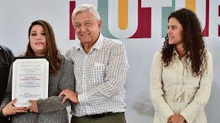 Jóvenes Construyendo el Futuro y Programas Integrales de Bienestar, desde Monterrey, Nuevo León