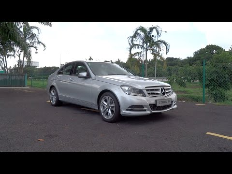 2014 Mercedes-Benz C 200 CGI Avantgarde Start-Up and Full Ve