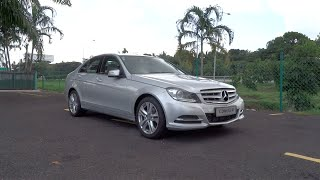 2014 Mercedes-Benz C 200 CGI Avantgarde Start-Up and Full Vehicle Tour