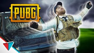Getting hit by a slow-moving vehicle in PUBG - The boop