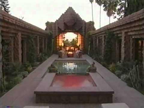 Lloyd Wright Hollywood Hills Mansion  YouTube