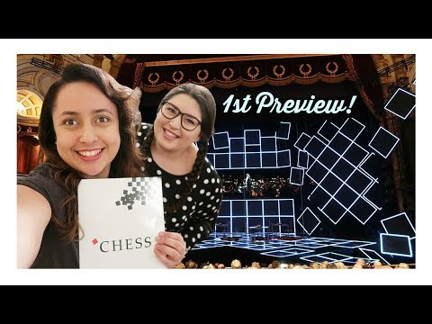 Chess the Musical West End - Vlog 2018