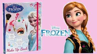DISNEY FROZEN MAKE UP BOOK with MAKEUP Elsa & Anna - Unboxing!!!