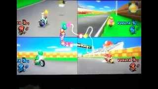 Mario Kart Wii en equipos en la jato de Snes (27/07/2013)