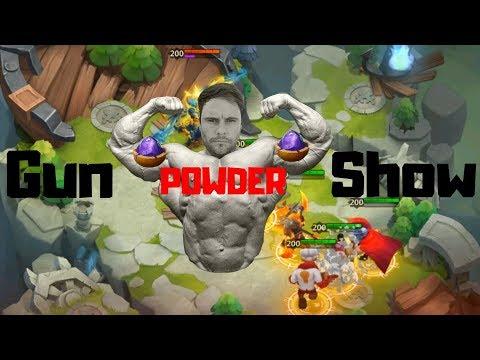 1000 Magic Powder | Floating Isle | Castle Clash