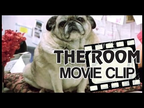 Hi Doggie - Flower Shop Scene - The Room (2003) - 4K (HD) Scene Clip