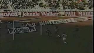 olympiakos-PANATHINAIKOS (1987-88) 1-4