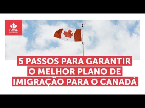 5 passos para garantir o melhor plano de imigração para o Canadá