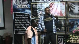Prophet Diallo & Presenter Phi & Apostle Ala Mars AZONTO