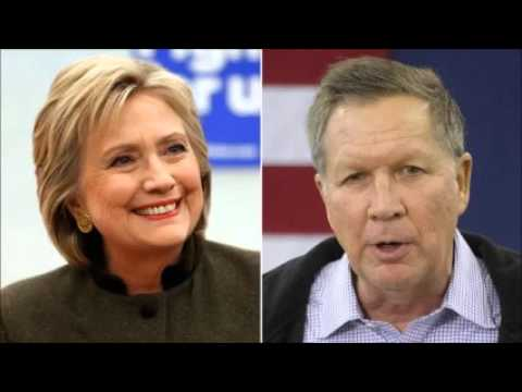 US presidential race: NYT endorses Clinton and Kasich