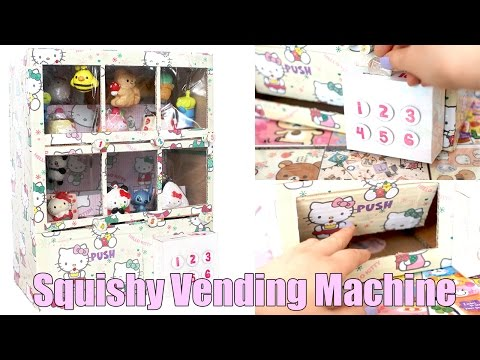 Squishy Dares Ideas : My Squishy Vending Machine! Doovi