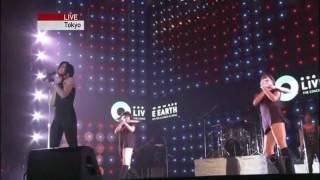Rihanna - umbrella live at earth