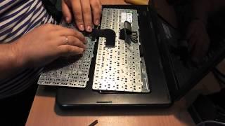 Как поменять клавиатуру на ноутбуке - Обзор(Как поменять клавиатуру на ноутбуке - Обзор Пришла новая клавиатура на мой DELL N5050! Старую сгрыз кот!!! :)))..., 2015-08-08T05:35:33.000Z)