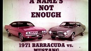 1971 Plymouth Barracuda / Cuda vs. Ford Mustang Dealer Promo Film