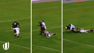 Jonah Lomu: The Most POWERFUL Player In Rugby History!