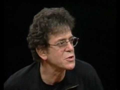 Lou Reed on the Charlie Rose Show (April 21st 1998)