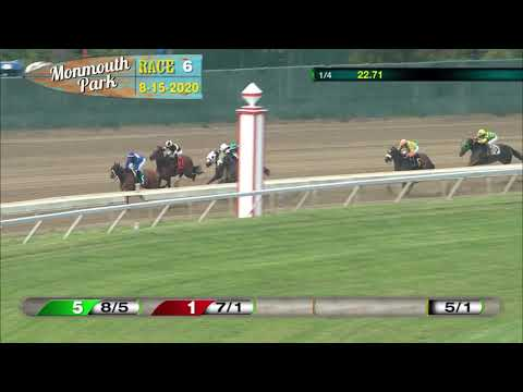 video thumbnail for MONMOUTH PARK 08-15-20 RACE 6