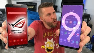 ROG Phone vs Galaxy S9+ Comparison Review