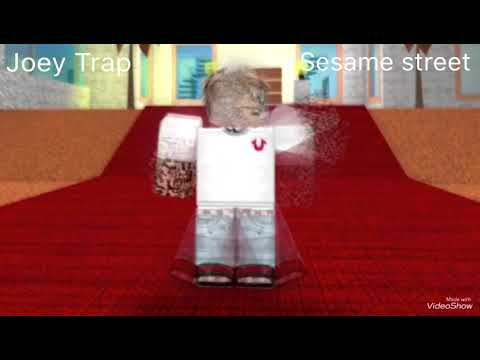 Roblox Joey Trap Code Joey Trap X Comethazine Sesame Street Official Roblox Music Video Youtube