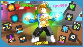 Getting Every Skill In Roblox Superhero City
