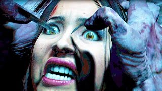 Until Dawn All Cutscenes Movie (HORROR GAME)
