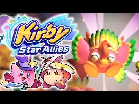 Mit Vogelkraft durch Feuer & Eis!   05   KIRBY STAR ALLIES