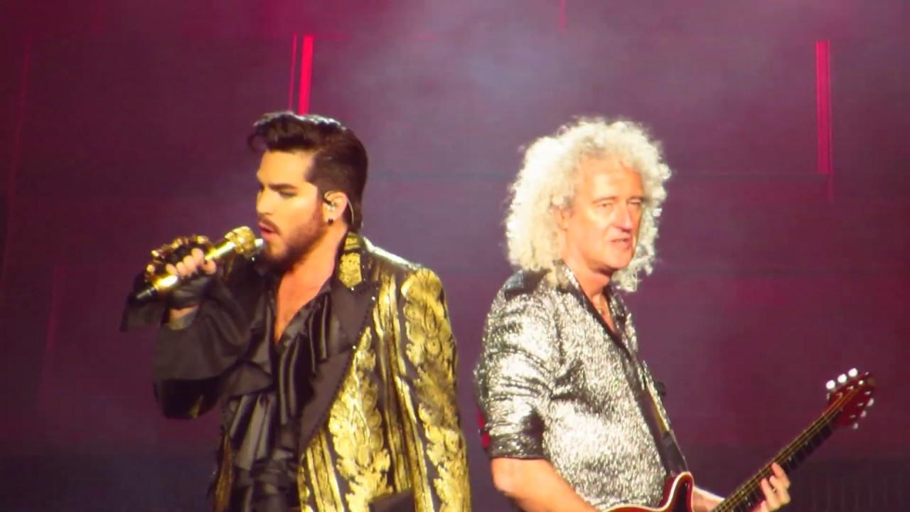 Queen + Adam Lambert - Intro + Now I'm Here - Rhapsody Tour - 10/7/2019 -  Vancouver, BC