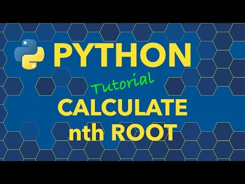 Python Calculate Nth Root