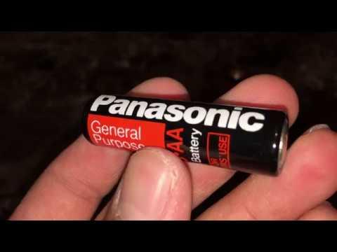 ASMR Panasonic AA Battery R6S OEM Unboxing