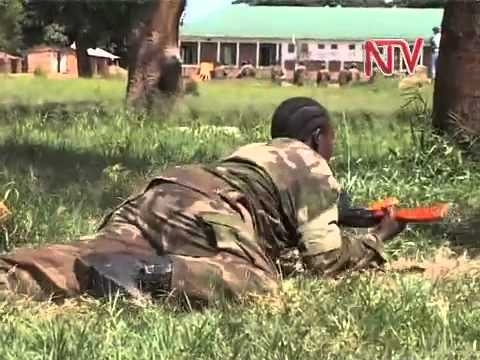 2500 UPDF Troops train for Somalia Mission