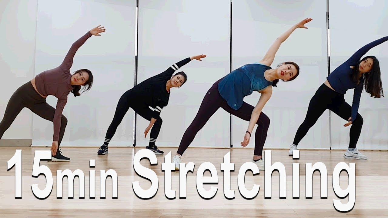 15 minute Stretching. 15분 스트레칭. Diet. Home Training. 홈트. 다이어트.