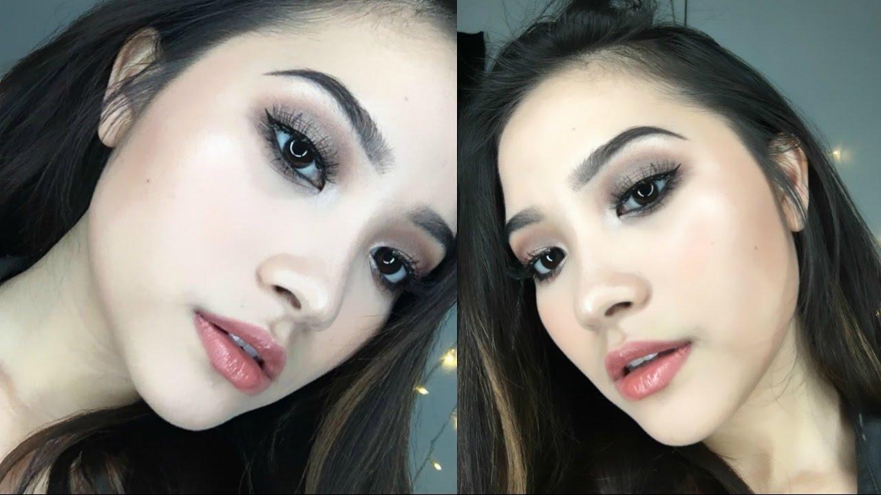 Wardah One Brand Tutorial Graduation Makeup Bahasa Youtube Eyebrowpensil Alis