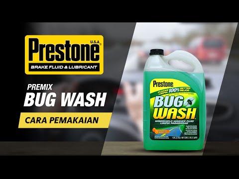 Prestone bug wash para que sirve