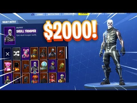 MY $2000+ SKIN SHOWCASE In Fortnite..